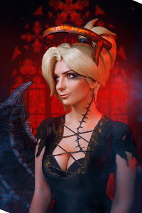 Mercy Succubus from Overwatch
