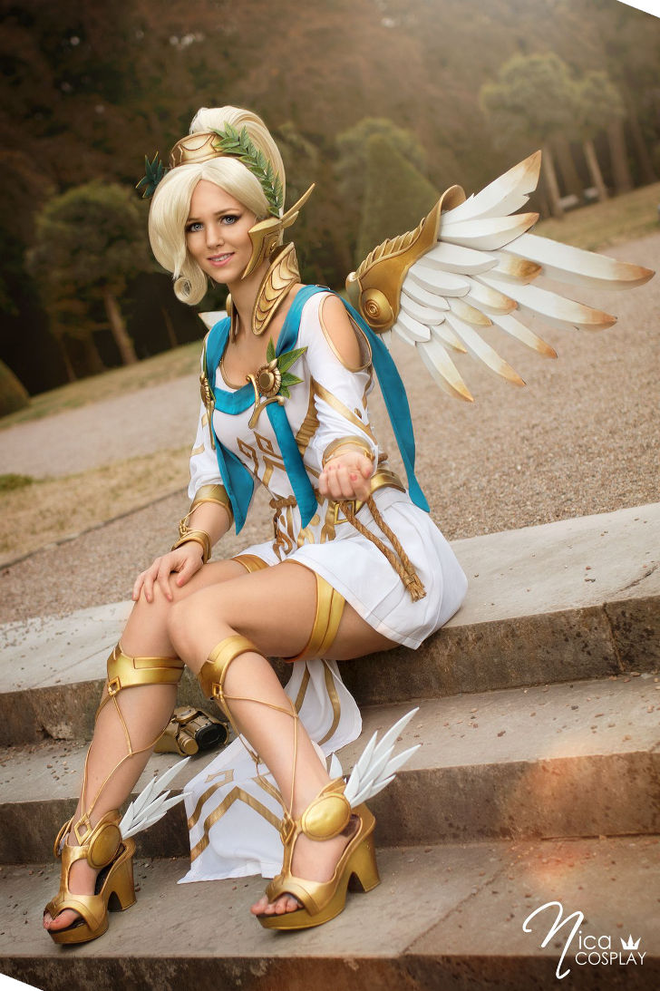Mercy Winged Victory from Overwatch