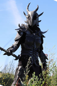 Daedric Armour from The Elder Scrolls V: Skyrim
