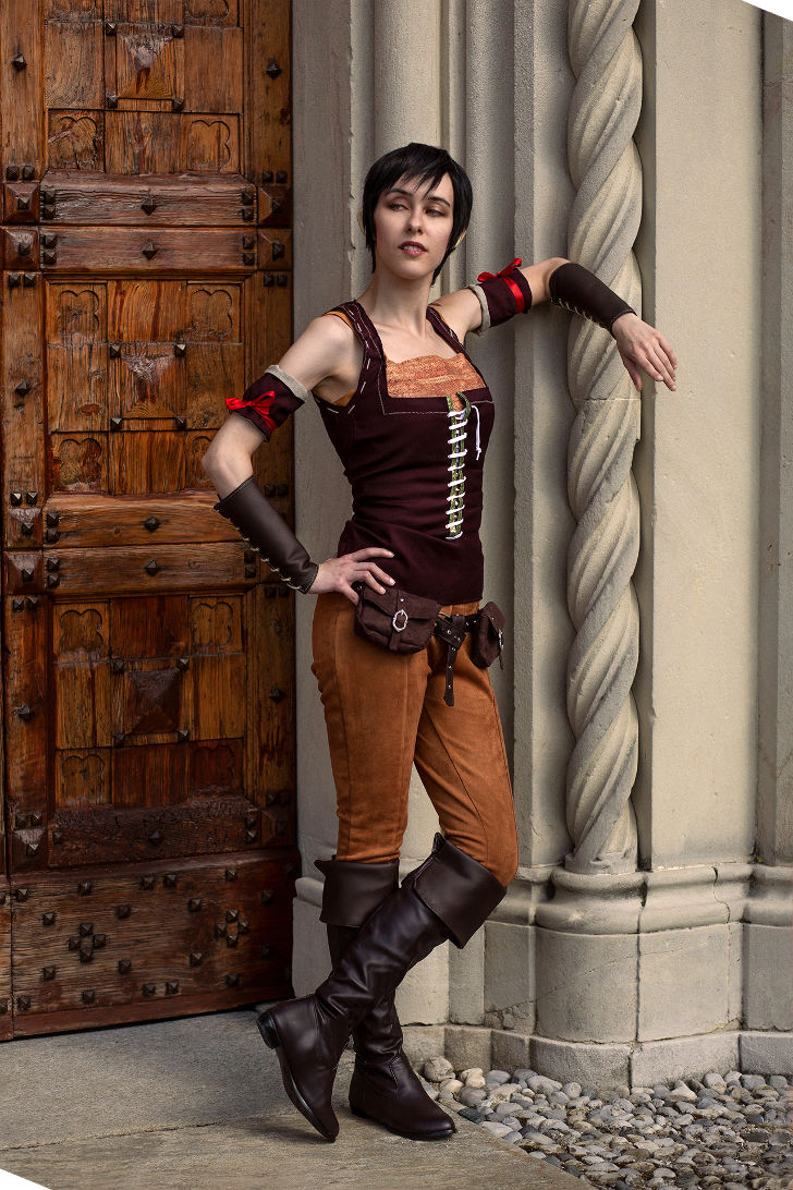 Eveline Gallo from The Witcher 3 Wild Hunt - Hearth of Stone