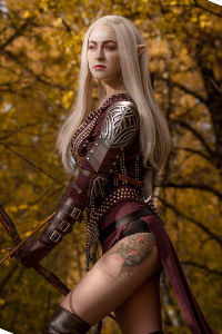 Dalish Elf from Dragon Age