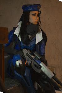 Captain Amari from Overwatch