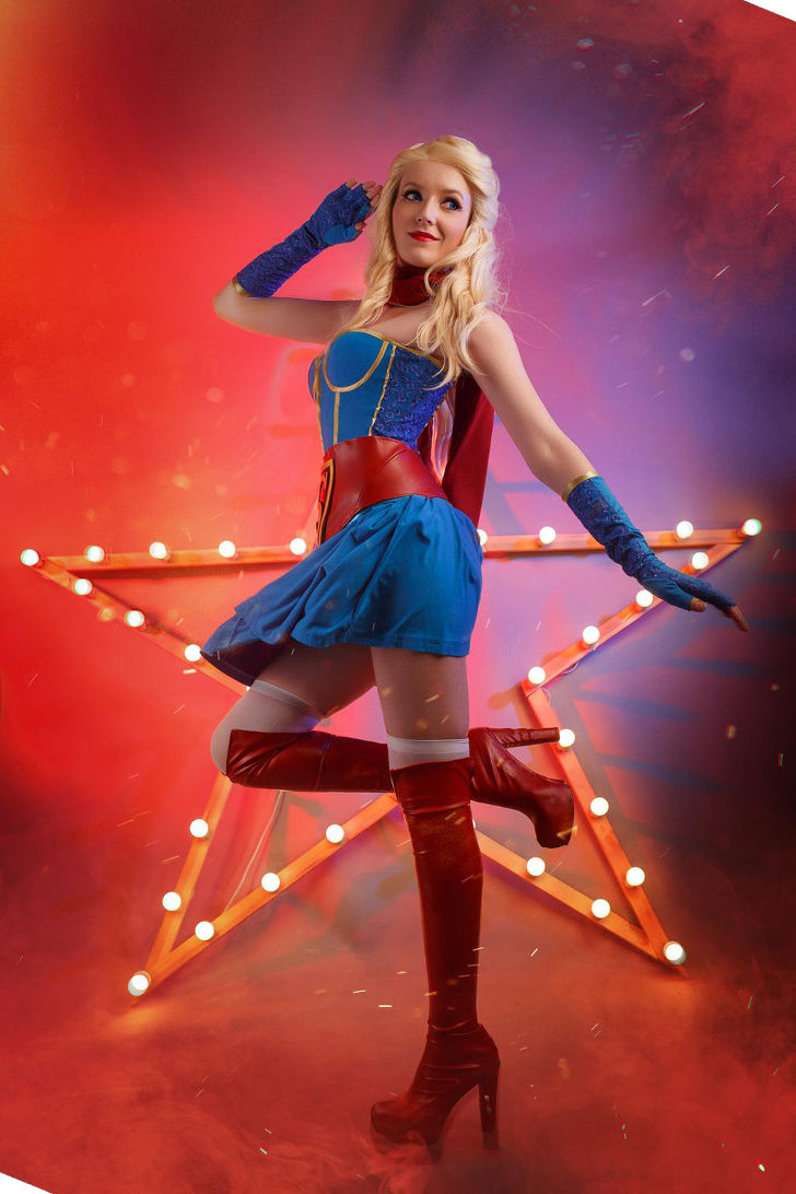Supergirl from DC Bombshells