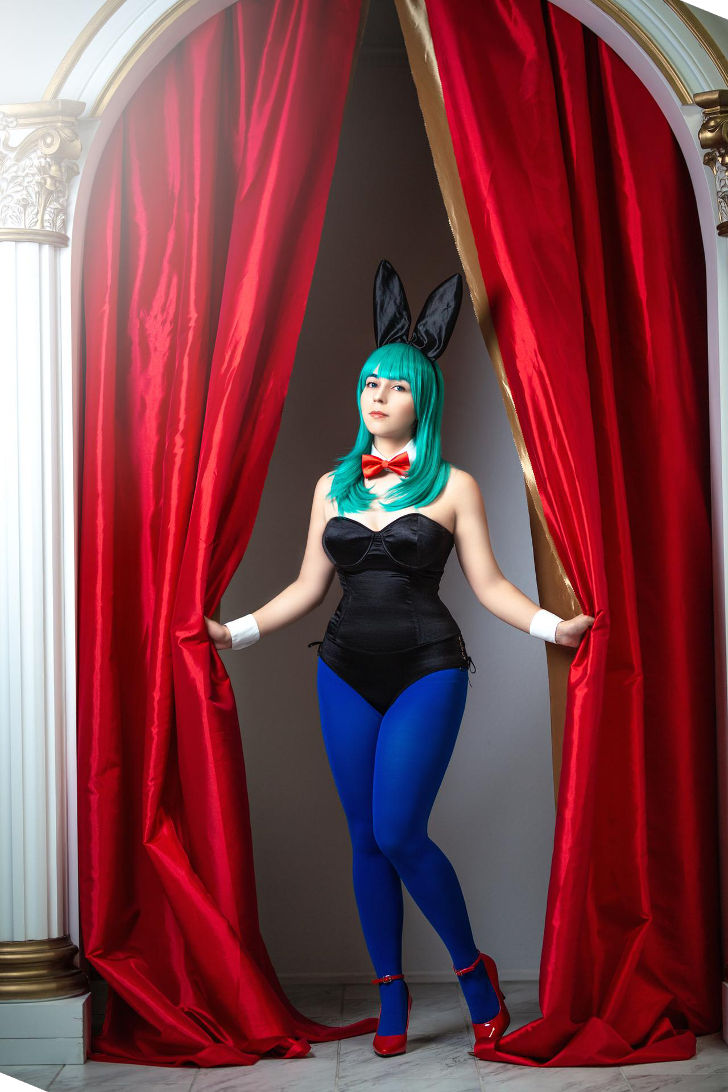 Bunny Bulma from Dragon Ball Z