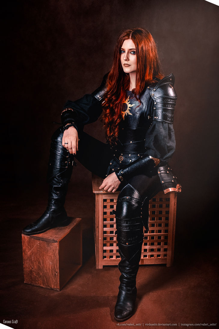 Triss Merigold Nilfgaard Armor from The Witcher