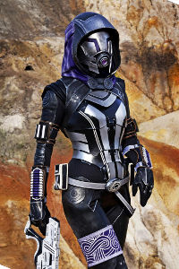 Tali'Zorah nar Rayya from Mass Effect