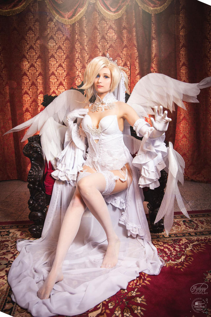 Bride Mercy from Overwatch