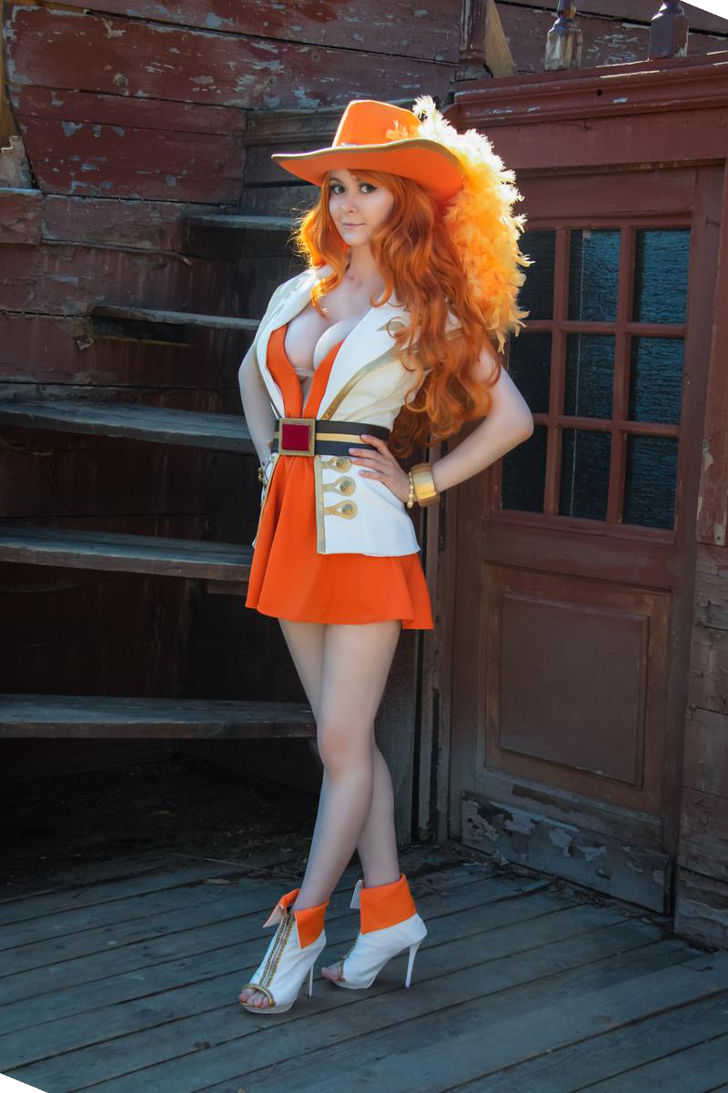 Nami-swan from One Piece