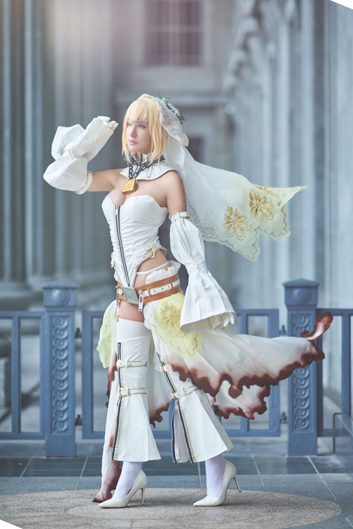 Saber Bride from Fate/Extra