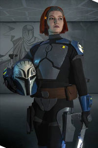 Bo-Katan Kryze from Star Wars Rebels