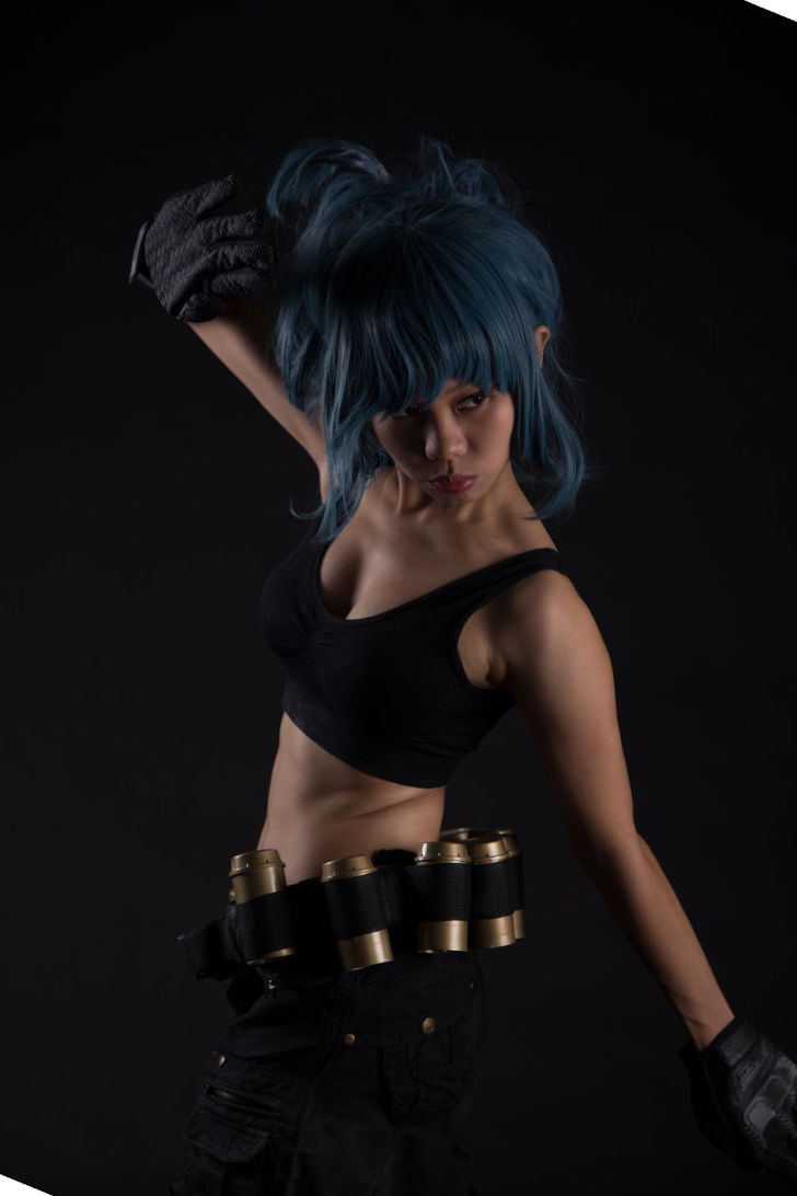 Leona Heidern from The King of Fighters