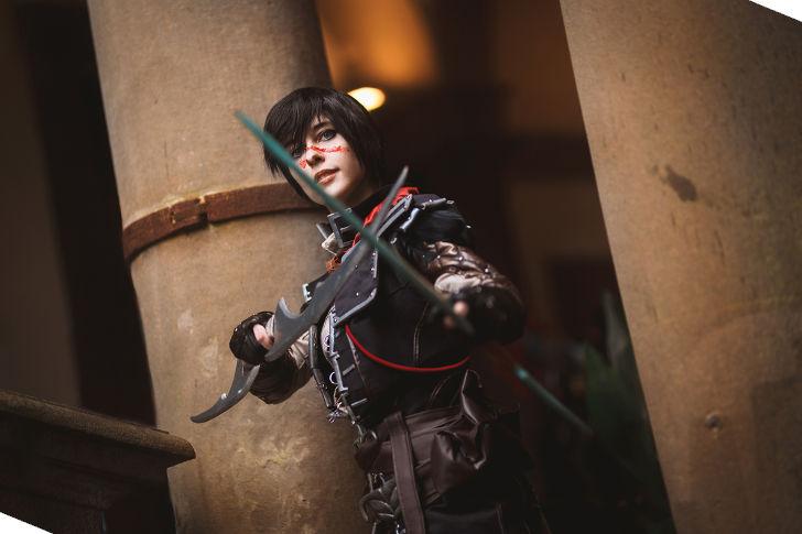 Rogue Marian Hawke from Dragon Age II