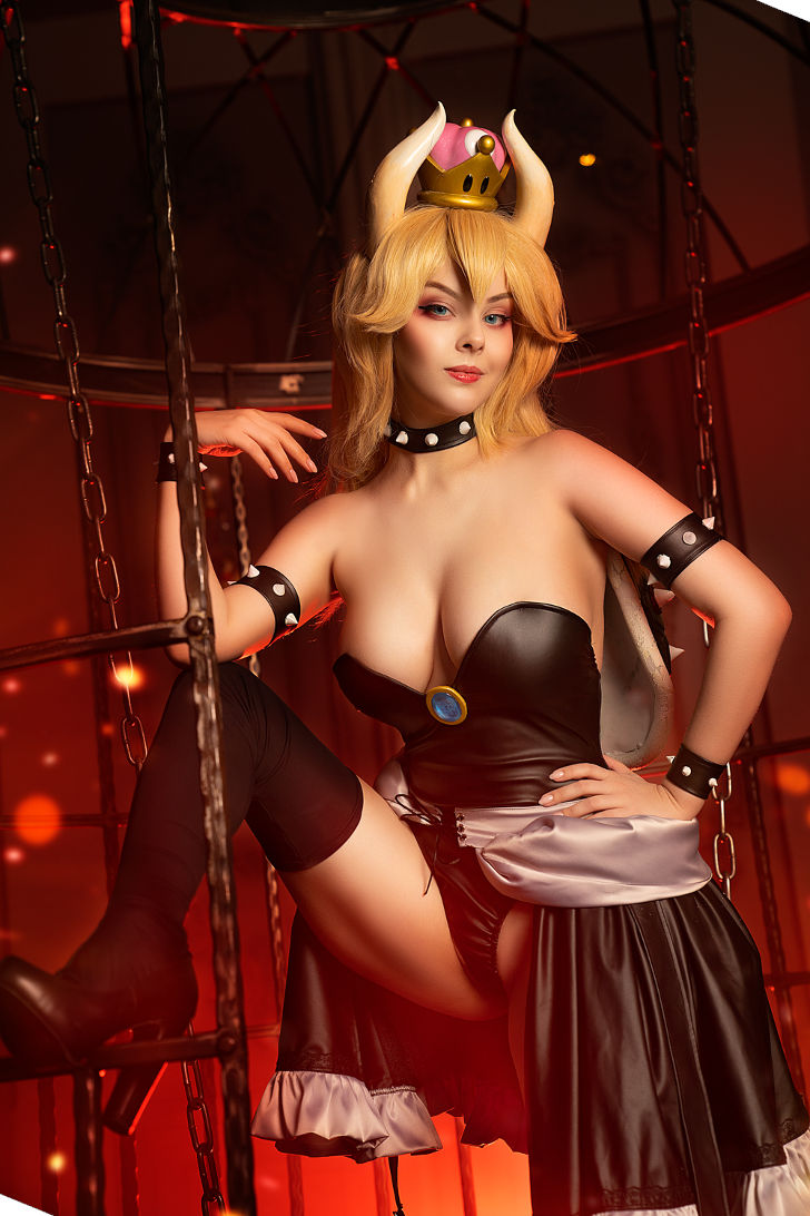 Bowsette from Super Mario Bros.