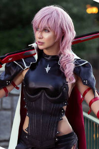 Lightning from Final Fantasy XIII