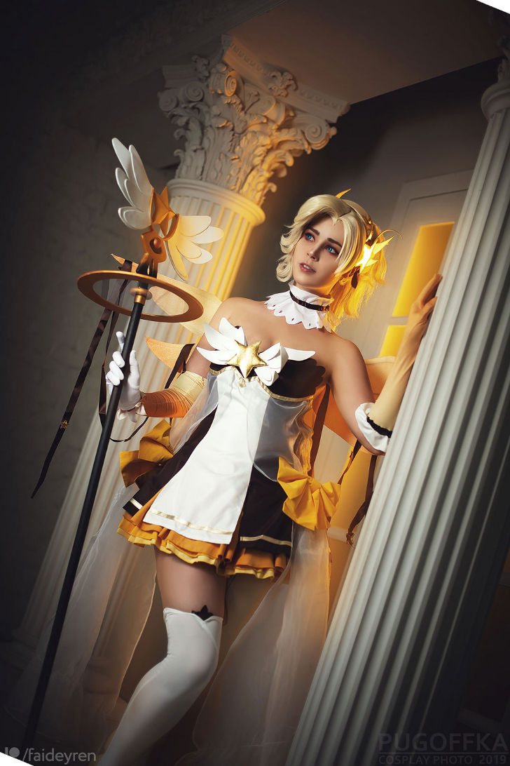 Magical Girl Mercy from Overwatch