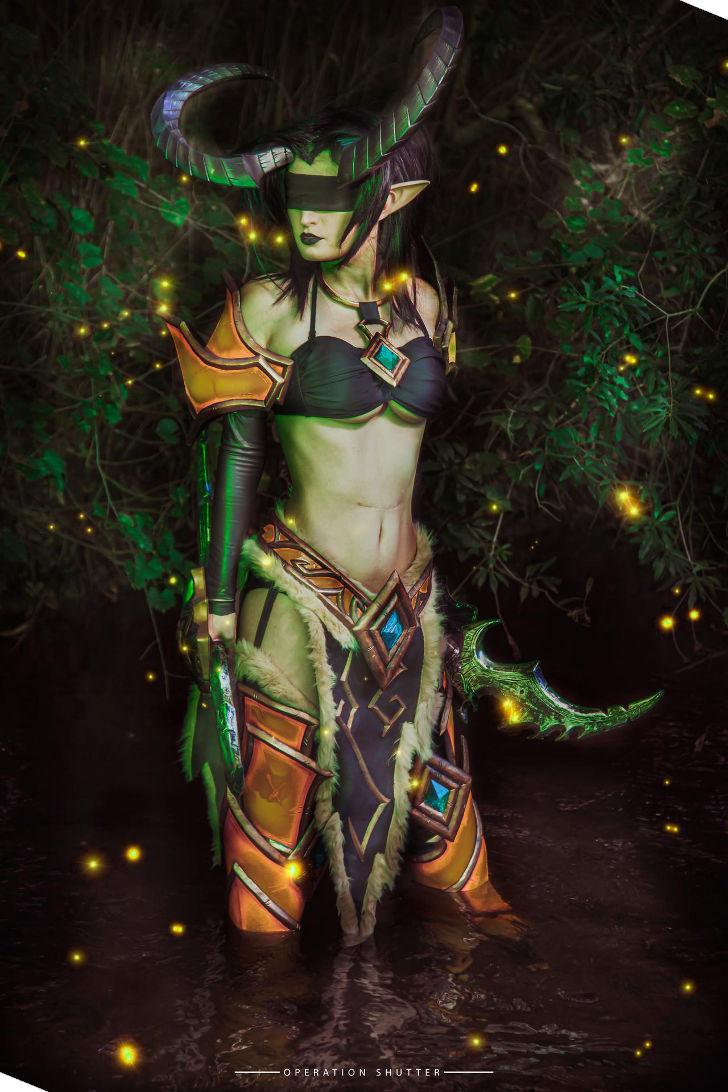 Demon Hunter Valeera from World of Warcraft