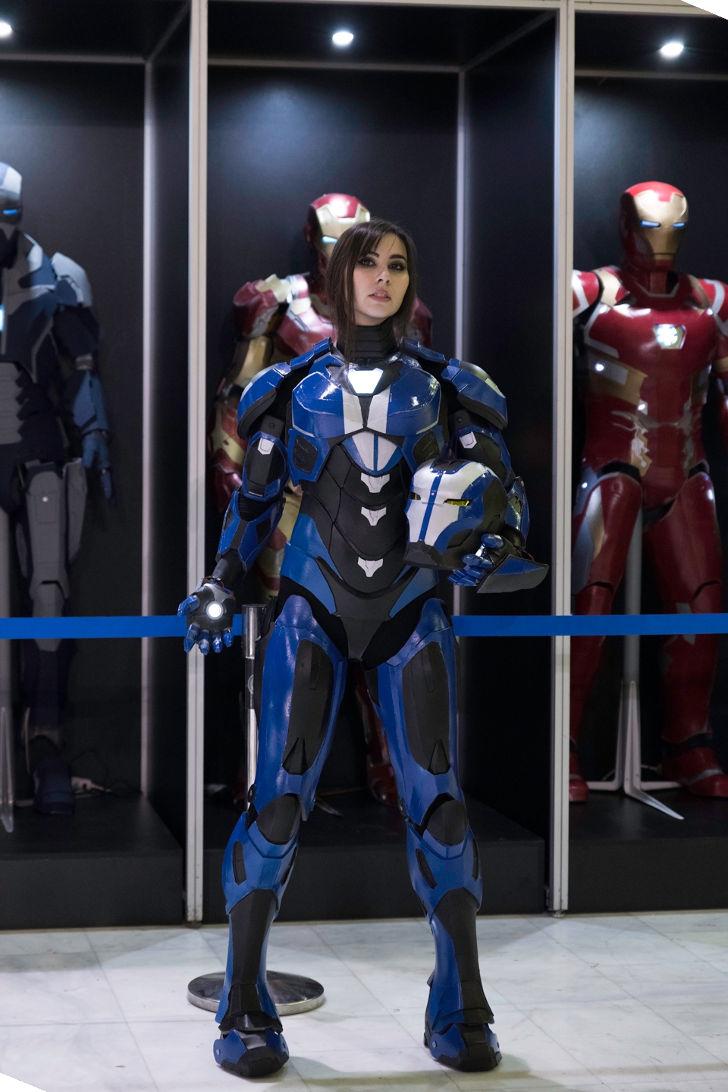 Iron Girl from Iron Man
