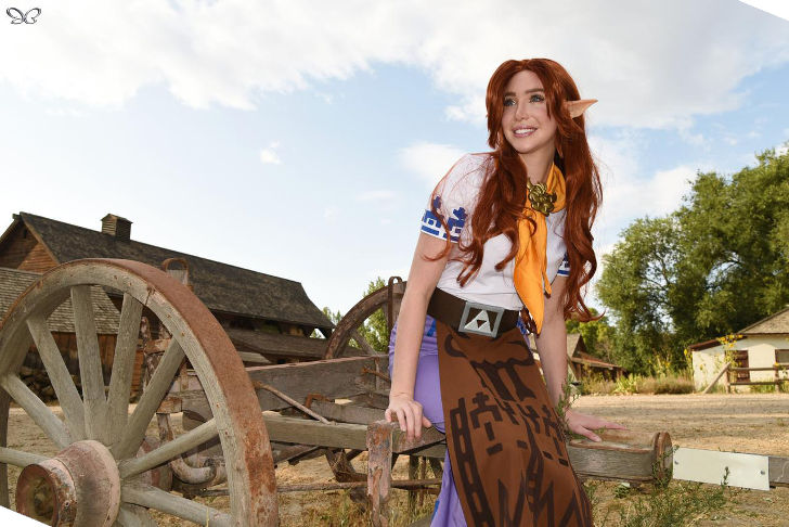 Malon from The Legend of Zelda: Ocarina of Time