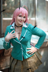 Moka from Rosario to Vampire