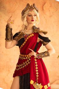 Crimson Queen Hera from SMITE