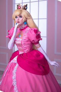 Princess Peach from Super Mario Bros.
