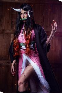 Demon Nezuko from Demon Slayer: Kimetsu No Yaiba