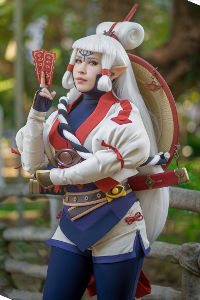 Impa from Hyrule Warriors: Age of Calamity