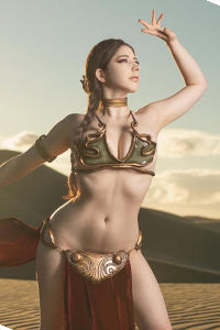 Slave Leia from Star Wars: Return of the Jedi