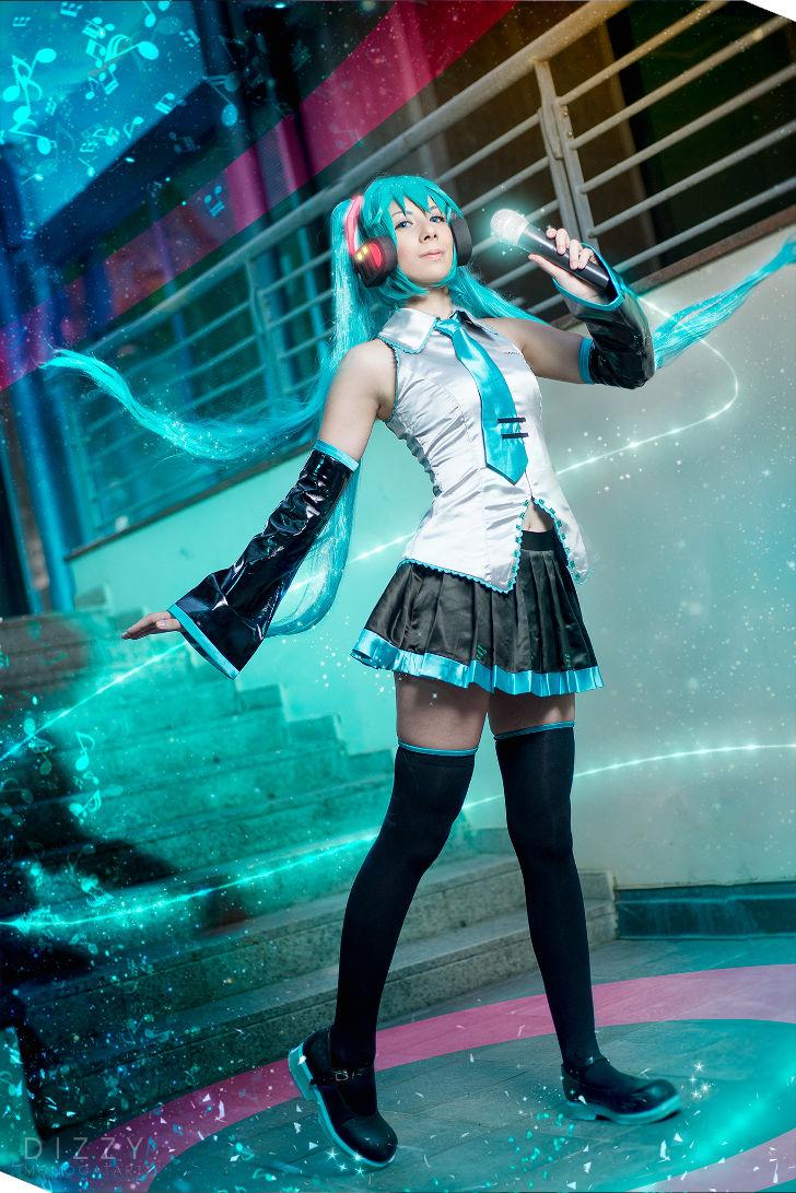 Hatsune Miku from Vocaloid