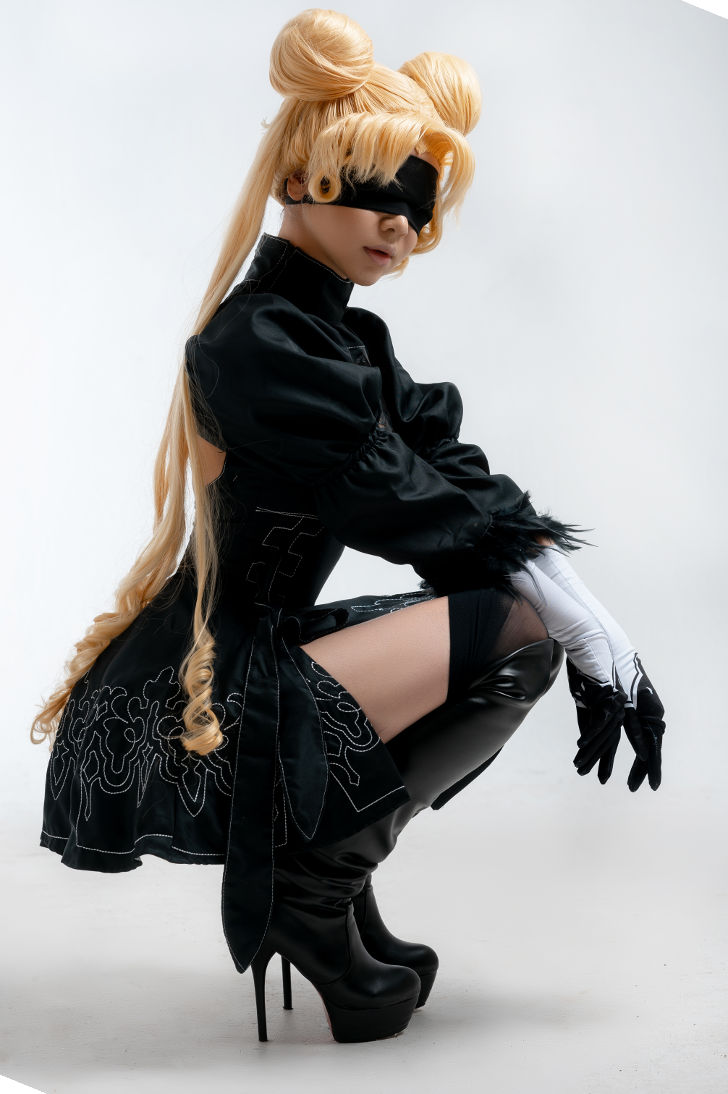 Sailor 2B from NieR: Automata & Sailor Moon