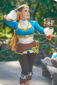 Princess Zelda from Hyrule Warriors: Age of Calamity