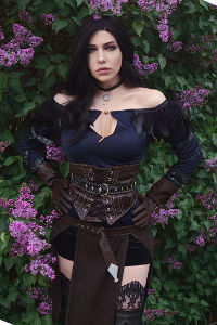 Yennefer of Vengerberg from The Witcher 3
