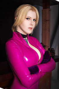 Nina Williams from Tekken 4