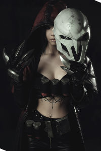 Female Reaper from Overwatch