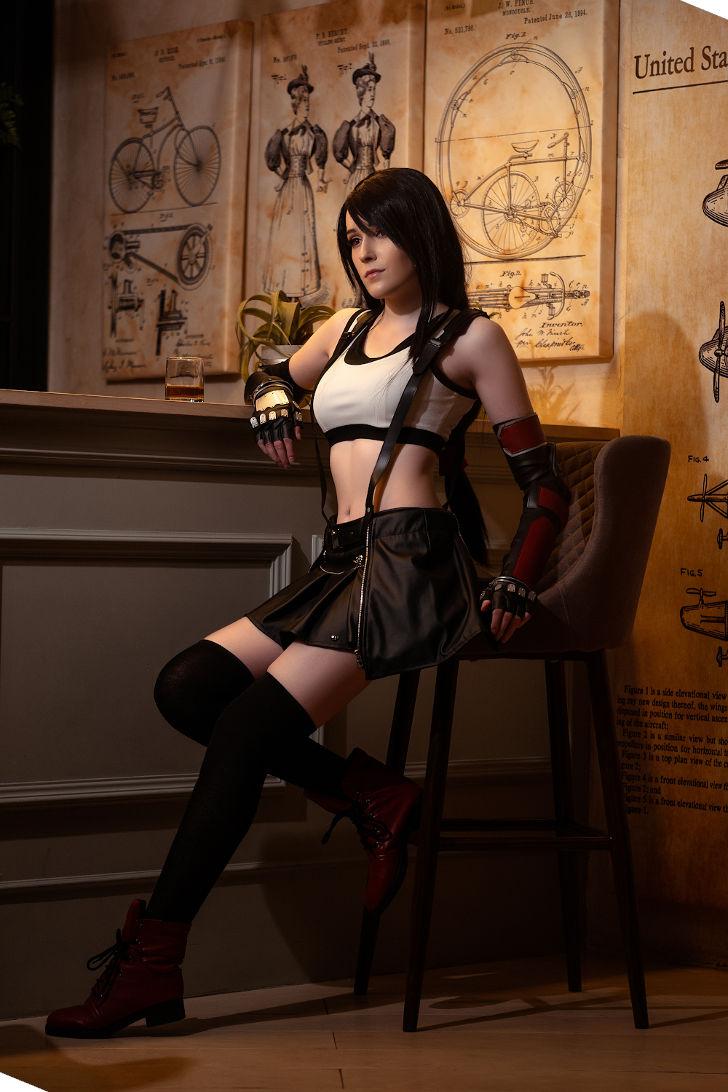 Tifa Lockhart from Final Fantasy 7 Remake