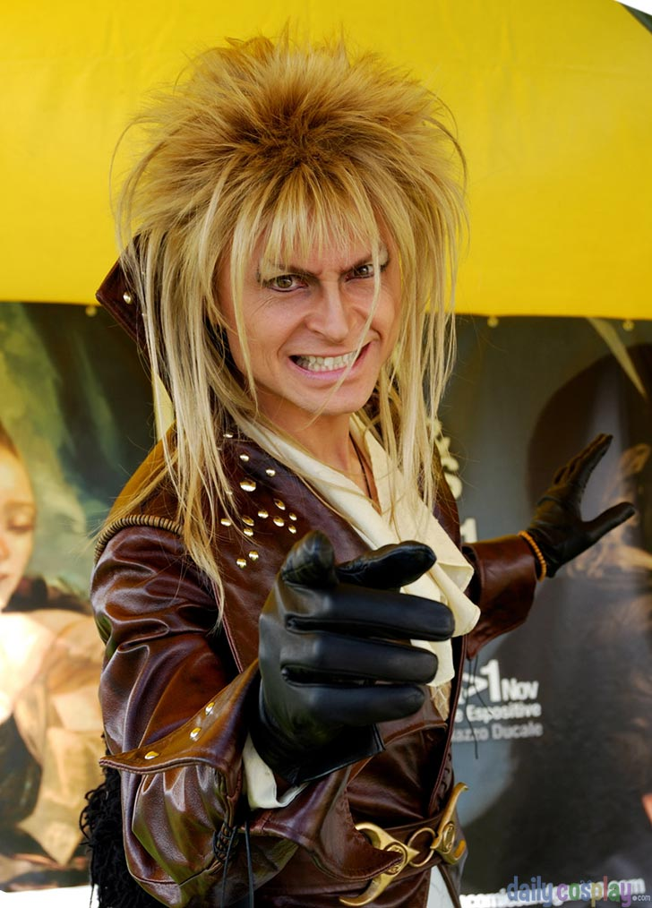 Jareth the Goblin King from Labyrinth - Daily Cosplay .com Labyrinth Owl Tattoo