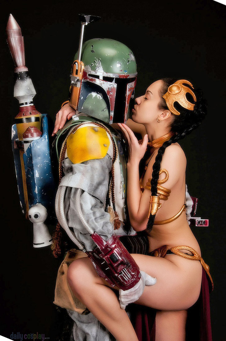 Slave Leia Boba Fett From Star Wars Return Of The Jedi Daily
