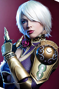 Ivy Valentine from Soul Calibur IV