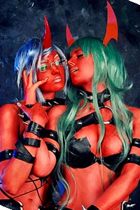 Scanty & Knee Socks from Panty & Stocking with Garterbelt