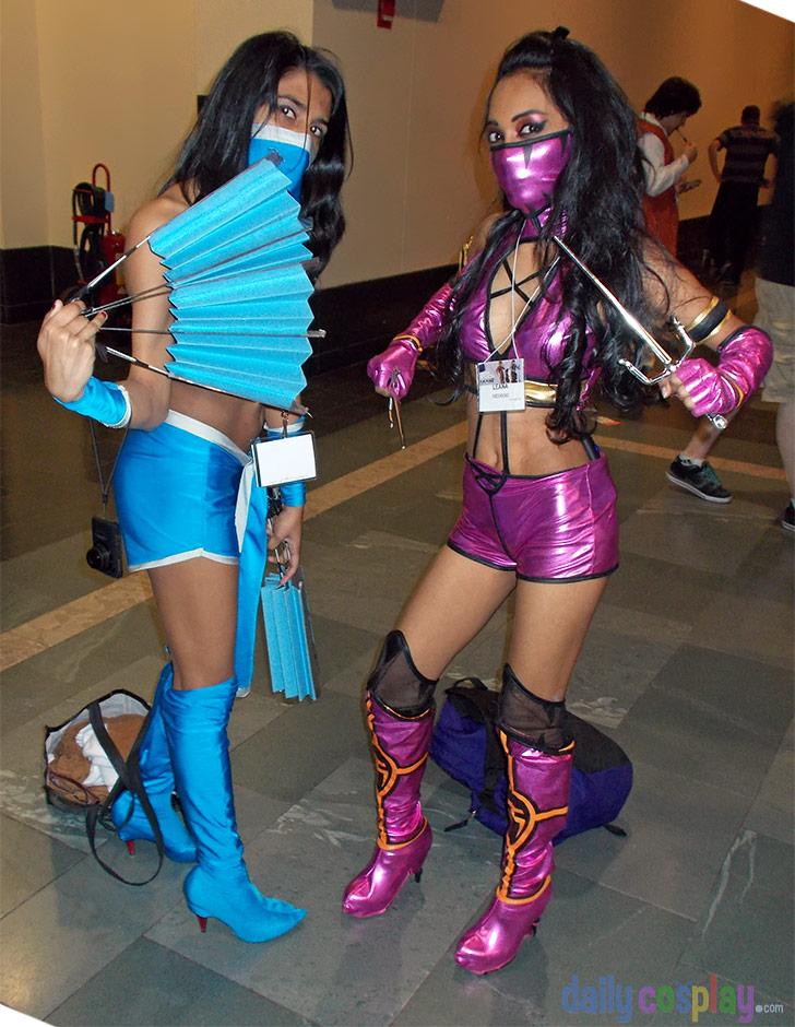 Kitana u0026 Mileena - Mortal Kombat 9 & Kitana u0026 Mileena - Mortal Kombat 9 - Daily Cosplay .com