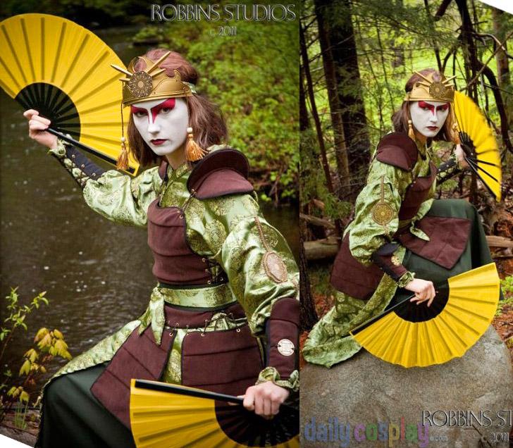 The Last Airbender Avatar Kyoshi: Kyoshi Warrior Suki / Avatar: The Last Airbender