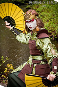 Kyoshi Warrior Suki from Avatar: The Last Airbender