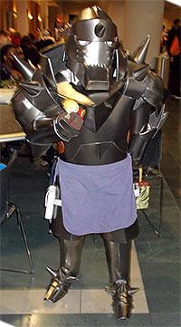 Alphonse Elric from Full Metal Alchemist