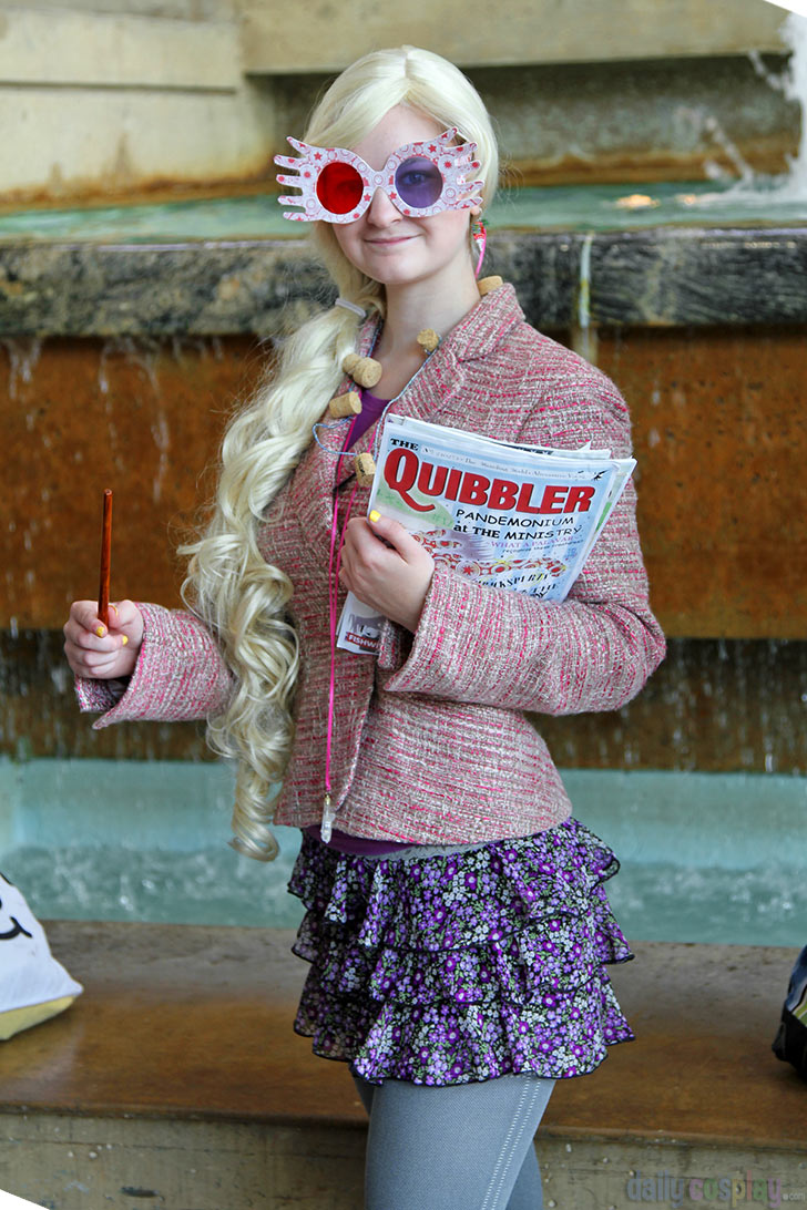 Luna Lovegood From Harry Potter And The Half Blood Prince Daily Cosplay Com