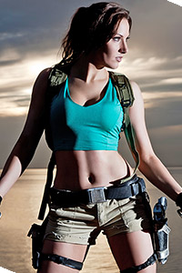 Lara Croft from Tomb Raider