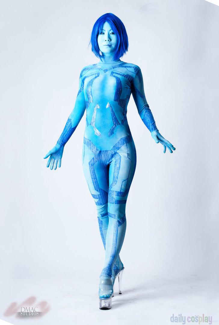 Life. halo cortana body paint