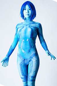 Cortana from Halo: Legends