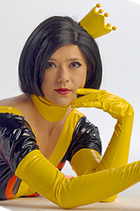 Dr. Mrs. The Monarch from The Venture Bros.