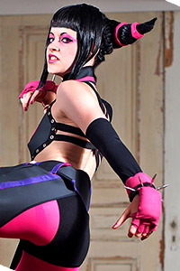 Juri Han from Super Street Fighter