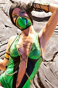 Jade from Mortal Kombat 9